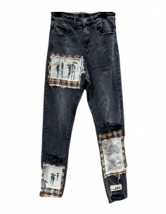 Jean Slim Fit Used Effect With Yoke VAL KRISTOPHER