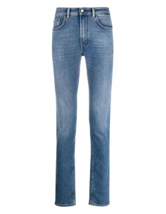 """ACNE STUDIOS """"North Mid"""" jeans in blue denim for men - SS21"""
