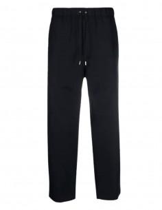 Pantalon large OAMC bleu taille élastique avec liens pour homme - SS21