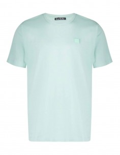 Nash Face T-Shirt - Green ACNE STUDIOS