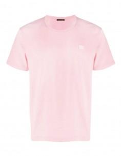 Nash Face T-Shirt - Pink ACNE STUDIOS