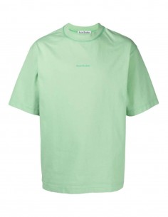 Classic green ACNE STUDIOS men's oversized tee-shirt - SS21