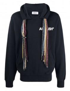 AMBUSH navy multi-string hoodie for men - SS21