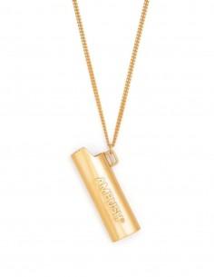 Unisex necklace AMBUSH lighter case in gold - SS21