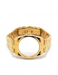 Unisex AMBUSH watch bracelet without dial in gold - SS21