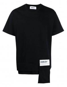 Black AMBUSH zipped pocket T-shirt - SS21