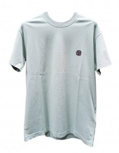 T-shirt AMBUSH vert avec petit logo rond poitrine pour homme - SS21