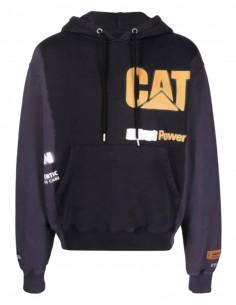 HERON PRESTON x Caterpillar two-tone sweatshirt for men - SS21