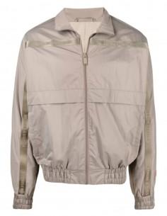 HERON PRESTON x Caterpillar beige windbreaker jacket for men - SS21