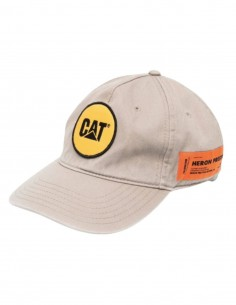 HERON PRESTON x Caterpillar beige cap with logo for men - SS21