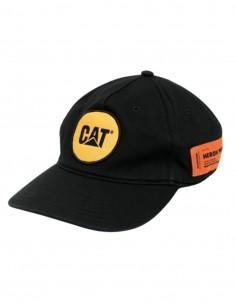 HERON PRESTON x Caterpillar black cap with logo for men - SS21