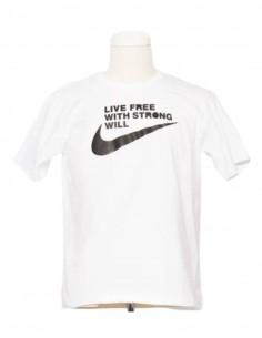 COMME DES GARÇONS BLACK x Nike white t-shirt for men - SS21