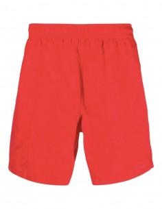 "AMI PARIS red swim shorts with ""Ami de coeur"" logo for men - FW21"