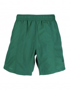 "AMI PARIS green swim shorts with ""Ami de coeur"" logo for men - FW21"