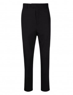 Pantalon de costume ISABEL BENENATO en laine noire pour homme - SS21