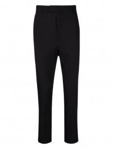 ISABEL BENENATO suit trousers in black wool for men - SS21