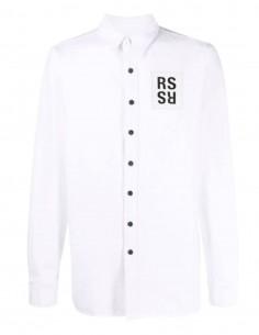 RAF SIMONS X Joy Division white denim shirt for men - S221