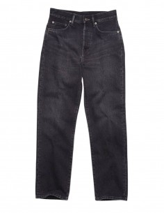 "ACNE STUDIOS ""Mece Vintage"" jeans in black denim for women - SS21"