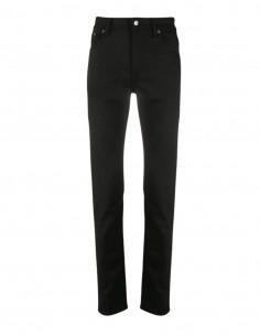 """Pantalon jean slim """"North Stay"""" noir ACNE STUDIOS pour homme avec patch logo - SS21"""