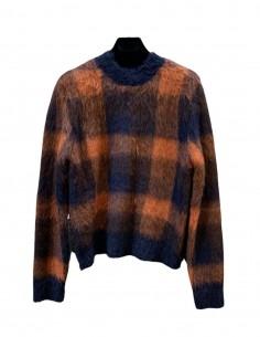 Orange alpaca scottish pullover - ACNE STUDIOS