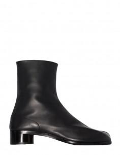 Boots Tabi MAISON MARGIELA noires avec fermeture crochets pour homme - FW21