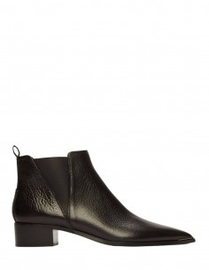 Black Jensen Boots Pebble Leather ACNE STUDIOS