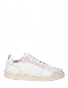 Baskets AMI à lacets blanches et logo pour femme - SS21
