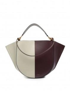 """Two-tone burgundy / ecru WANDLER """"Mia"""" bag for women"""
