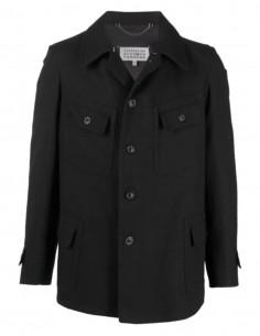 Veste MAISON MARGIELA noire à 4 poches pour homme - FW21