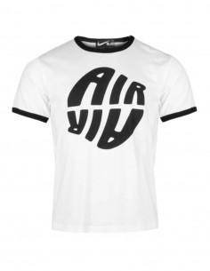 COMME DES GARÇONS BLACK x Nike white t-shirt with reverse Air logo - SS21