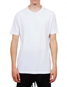 White THOM KROM T-shirt with contrasting stitching for men - FW21