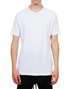 T-shirt blanc THOM KROM coutures contrastées pour homme - FW21