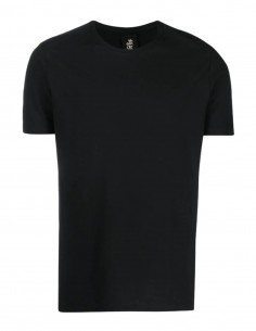 Black THOM KROM T-shirt with contrasting stitching for men - FW21