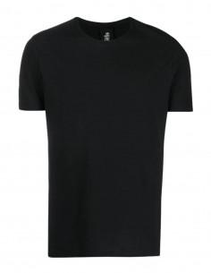 T-shirt noir THOM KROM coutures contrastées pour homme - FW21