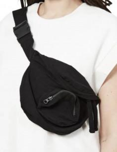 Sac à banane THOM KROM zippée en coton noir pour homme - FW21