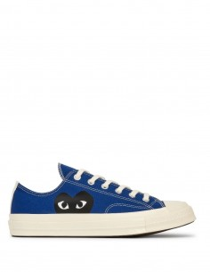 CDG Play X Converse low sneakers monoheart - Blue