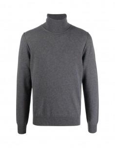 Grey MAISON MARGIELA turtleneck jumper in cashmere for men - FW21