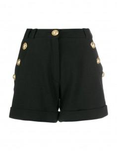 Balmain high waist black short for women - FW12