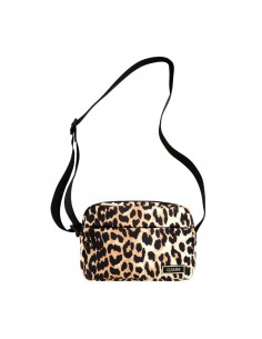 Sacoche imprimé léopard Ganni pour femme - FW21