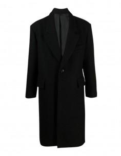 Manteau Ami épaulé oversize en laine pour homme - FW21