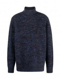 OAMC blue flecked turtleneck jumper for men - FW21