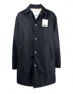 Oamc navy quilted nylon jacket for men - FW21