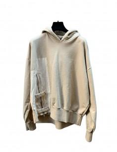 Oversized beige Val Kristopher sweatshirt for men - FW21
