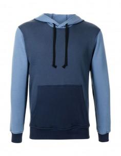 Sweat à capuche Comme des garçons Shirt bicolore pour homme - FW21