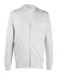 Comme des garçons Shirt grey bomber-style sweatshirt for men - FW21