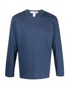T-shirt navy Comme des garçons shirt à manches longues pour homme - FW21
