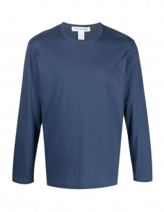 Comme des garçons Shirt navy tee shirt with long sleeves for men - FW21
