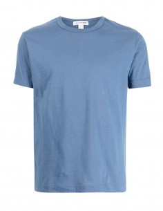 Comme des garçons Shirt blue t-shirt with short sleeves for men - FW21