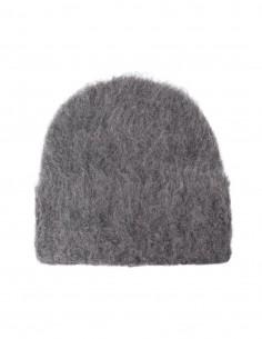 Toteme grey alpaca hat for women - FW21