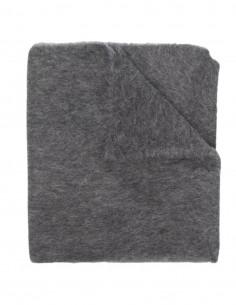 Totême grey alpaca scarf for women - FW21